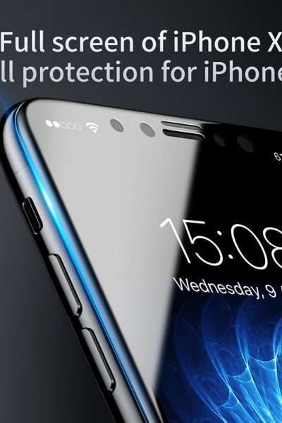 Tempered Glass, Screen Protector Glass For iPhone X, Luxury screen protection