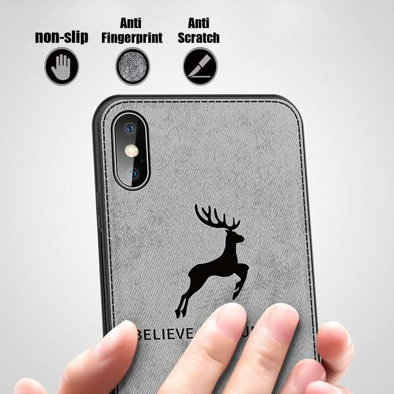 """Non-Slip """"Believe in Yourself"""" iPhone Case for iPhone X, XS, XR, XS MAX"""