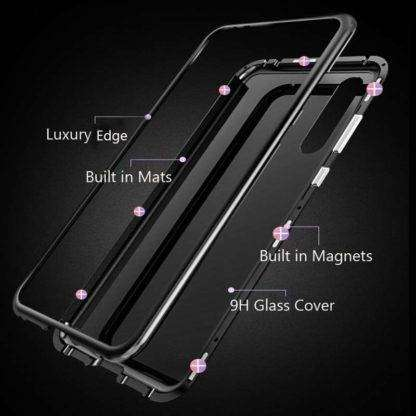 9H Back Glass Magnetic Cover For Samsung Galaxy S10, S10+