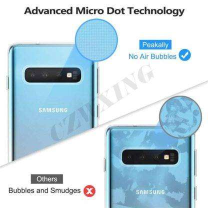 Advanced Micro Dot Technology Transparent Cover For Samsung Galaxy S10