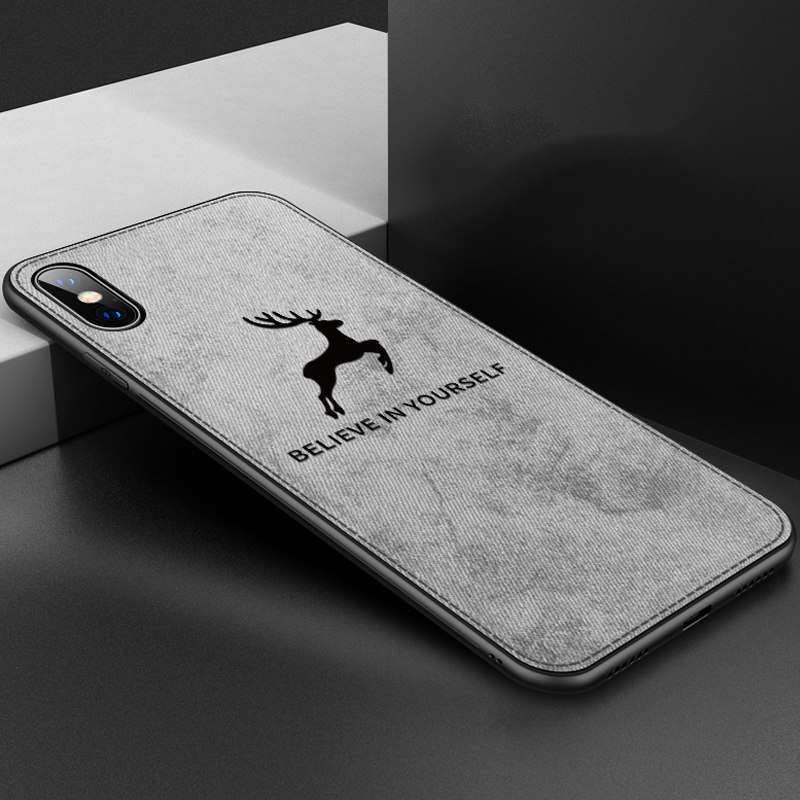 """Believe in yourself"" iPhone 8 Case - Available in Gray"