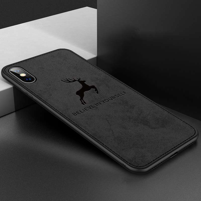 """Believe in Yourself"" iPhone Case Smooth Hand Holding - Black, For iPhone 7"