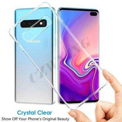 Crystal Clear Transparent Cover For Samsung Galaxy S10