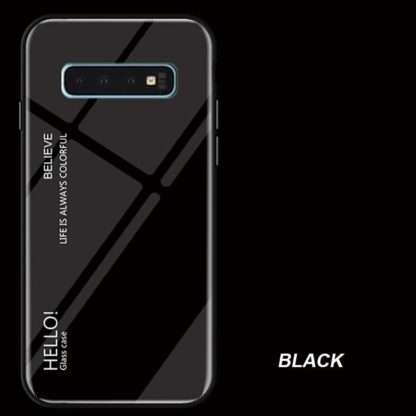 Gradient Glass Cover For Samsung Galaxy S10, S10 Plus