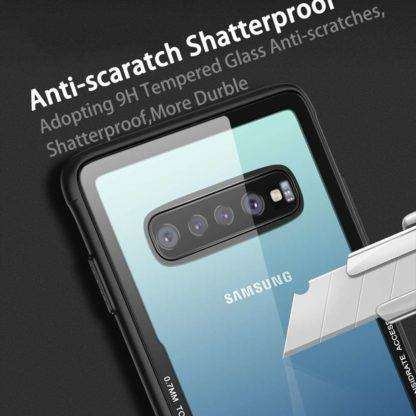 Tempered Glass Cover For Samsung Galaxy S10, Plus