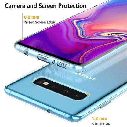Transparent Cover For Samsung Galaxy S10