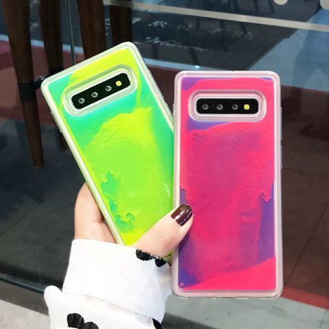 Neon Sand Case Waterfall for samsung