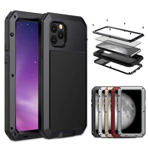 Black Luxury 360 Full Protective Case