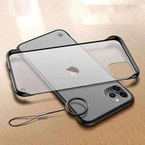 Black Frameless iPhone Case