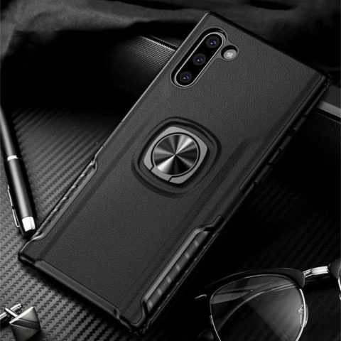 Luxury Leather Armor Case